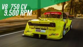"""Este """"Chevette"""" é na verdade um Corvette disfarçado de Opel Kadett – e ele tem um V8 de 9.500 rpm!"""