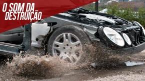O que acontece com seu carro quando você passa por um buraco na pista