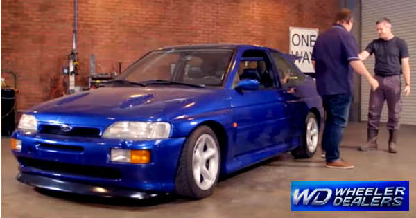 Ford-Escort-RS-Cosworth-At-The-Premiere-of-Wheeler-Dealers-on-October-4th-1
