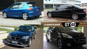 Um BMW 330i Motorsport, um Peugeot 206 inspirado pelo GTI e as novidades do GT40!