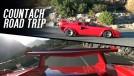 Como é uma road trip de 1.600 km com Lamborghini Countach 5000QV 1987?