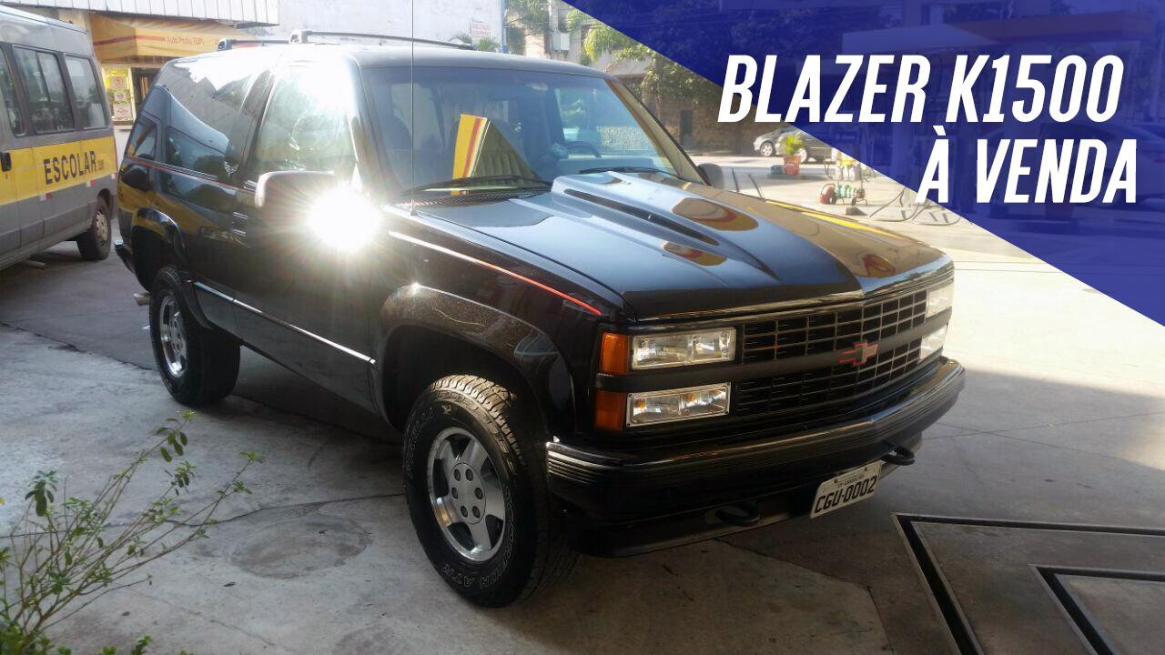 c747799b8b Uma legítima Chevrolet Blazer K1500 americana