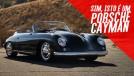 Que tal este Porsche Cayman com a carroceria de um Porsche 356 1959?