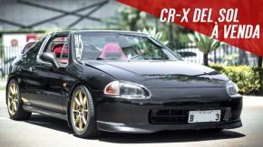 Honda CR-X Del Sol à venda: que tal um conversível com motor B16 de 160 cv na sua garagem?