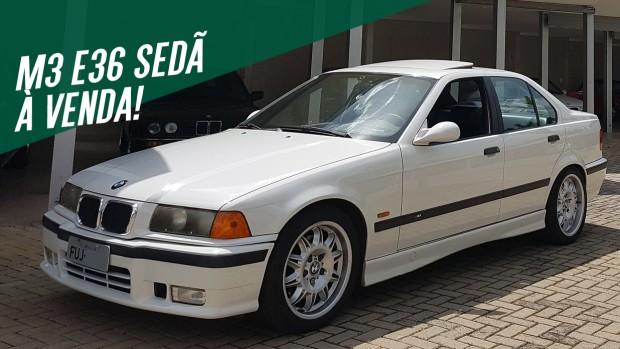 Este raro BMW M3 E36 sedã está inteiraço e original – e pode ser seu