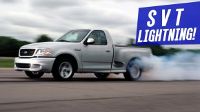 Ford F-150 SVT Lightning: a picape com motor de muscle car que arrepiou nos anos 1990