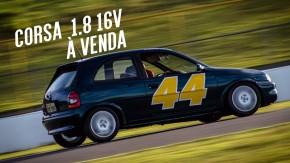 Este Chevrolet Corsa 1.8 16v é um monstrinho dos track days – e pode ser seu!