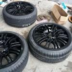 montagem pneus