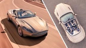 Aston Martin DB11 Volante: uma escultura de 510 cv, alumínio, couro e madeira a céu aberto