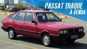 """Este VW Passat """"Iraque"""" em fase final de restauração está à venda. E aí, encara?"""