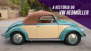 Volkswagen Hebmüller: o Fusca conversível 2+2 que foi o precursor do Karmann-Ghia
