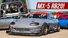 Este Mazda MX-5 com motor de Skyline R32 é um Shelby Cobra JDM (ou quase isto)