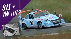 Limão na ferida: este Porsche 911 turbodiesel foi feito para incomodar puristas