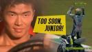 <i>Too soon, Junior</i>: isto é o que acontece quando você comemora a vitória antes de cruzar a linha de chegada