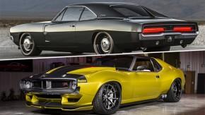 Os Shelby Mustang de 1.000 cv, um Dodge Charger restomod e o renascimento de um AMC Javelin no SEMA