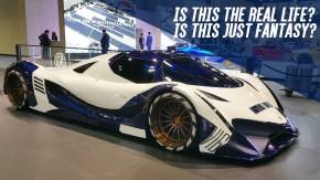 Esta é a versão de produção do Devel Sixteen, o supercarro árabe de 5.000 cv! Mas…