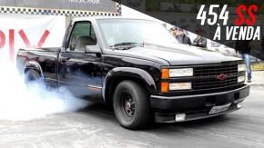 À venda: uma Silverado americana com motor 454, nitro e 550 cv nas rodas