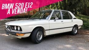 Coloque uma dose de classe em sua garagem com este BMW 520 que está à venda