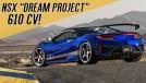 """NSX """"Dream Project"""": 610 cv, suspensão preparada e novo visual para o supercarro da Honda/Acura no SEMA"""