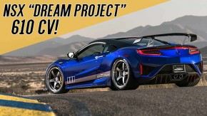 "NSX ""Dream Project"": 610 cv, suspensão preparada e novo visual para o supercarro da Honda/Acura no SEMA"