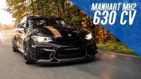 630 cv e 323 km/h: Manhart MH2 630 Track Edition é o BMW M2 mais insano que se pode comprar (por enquanto)