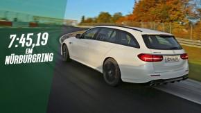 Mercedes-AMG E63 S Estate vira 7:45,19 e se torna a nova perua mais rápida de Nürburgring – veja o onboard!