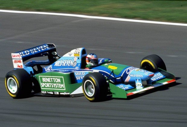 Michael-Schumacher-Hungarian-GP-F1-1994-Benetton-B194-Photo-Ford