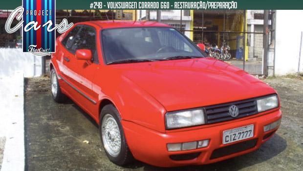 A saga da restauração de um Volkswagen Corrado G60 no Brasil – Parte 6