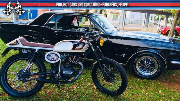 Project Bikes #379: uma cara nova e a conclusão da Malrboro Café Racer
