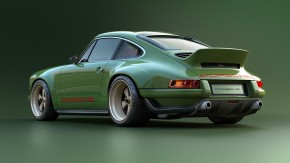 Este é o incrível Porsche 911 Singer com motor aircooled Williams de 500 cv