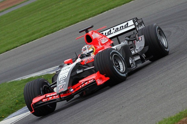 April 26th Formula 1 Test Session Silverstone. Major test before the Silverstone Grand Prix in June.