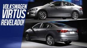 """Volkswagen Virtus é revelado – veja todos os detalhes do novo """"Polo Sedan"""""""
