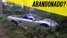 """A estranha história do Honda NSX """"abandonado"""" em uma floresta"""