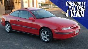 Não é sempre que um Chevrolet Calibra bem cuidado como este aparece à venda