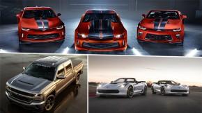 """Chevrolet no SEMA 2017: Camaro """"Hot Wheels"""", o novo Camaro COPO e uma Silverado supercharged"""
