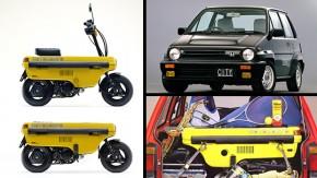 Honda City Turbo: o hot hatch japonês que vinha com uma scooter no porta-malas