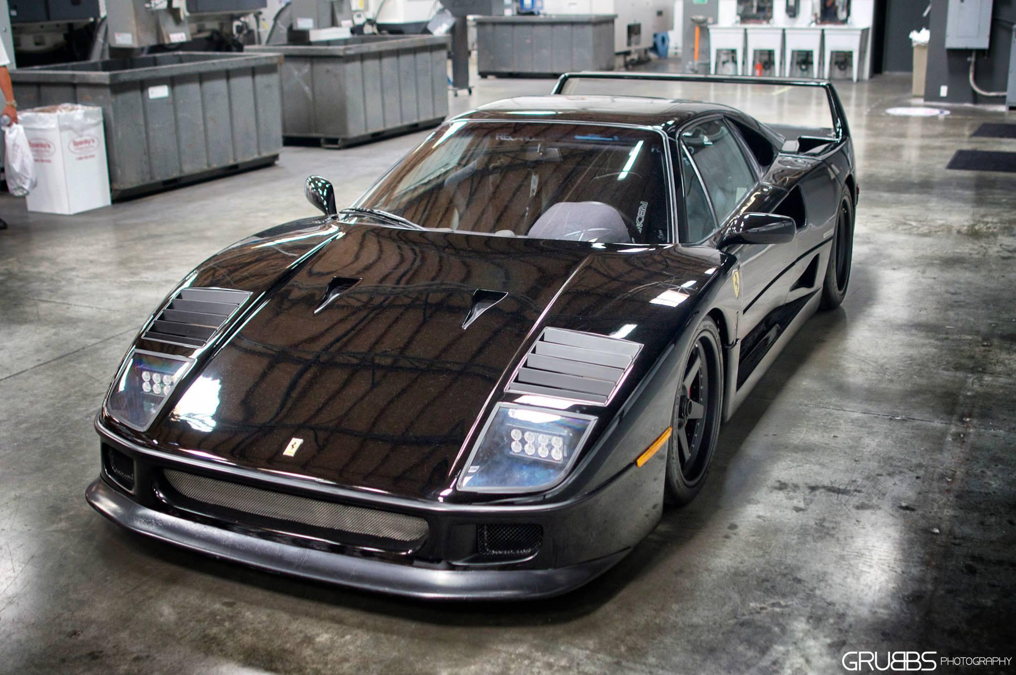 f40-black-61 Marvelous Ferrari Mondial 8 Te Koop Cars Trend