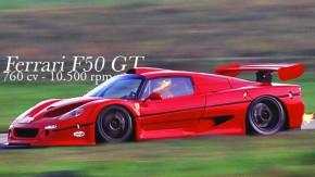 F50 GT: a Ferrari de corrida com motor V12 de 760 cv que jamais competiu