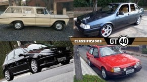 Uma Veraneio 1982 bem original, um raro Tempra Stile com couro caramelo, um 2006 Moonlight com engine swap e mais no GT40