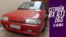 Um raríssimo Citroën BX GTI 16S com apenas 18.000 km rodados à venda no Brasil