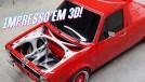 Esta picape Volkswagen tem a estrutura impressa em 3D – e isto pode mudar a maneira de se restaurar clássicos