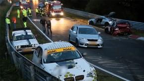 Mais um engavetamento em Nürburgring – agora com 14 carros (veja o onboard)