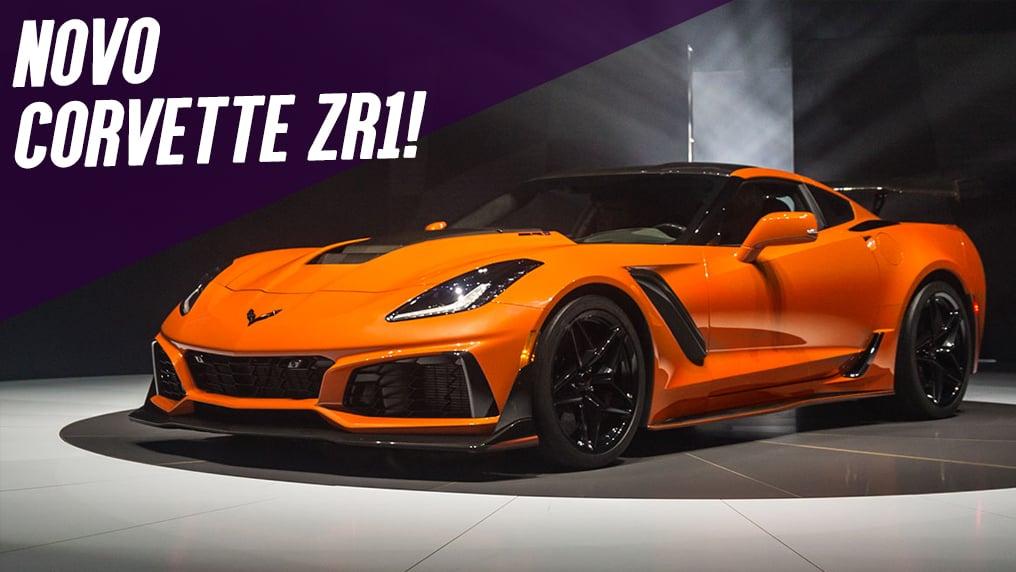 765 Cv E 340 Km/h: Este é O Novo Chevrolet Corvette ZR1 C7