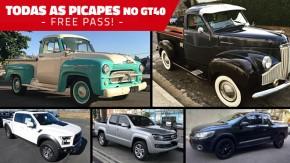 Semana das picapes no GT40: todas as pick-ups de todas as marcas anunciam na faixa até a próxima terça!