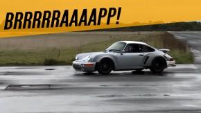 Pare o que estiver fazendo e ouça o ronco do motor aircooled de 500 cv Singer-Williams