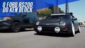 "Ken Block apresenta seu ""daily driver"": um Ford RS200 de 700 cv"