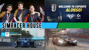 O campeão da F1 Esports Series 2017, Fernando Alonso cria sua equipe virtual, F-E lançado para rFactor 2, novidades no GT Sport e muito mais!