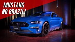 Finalmente o Ford Mustang chegou ao Brasil – vendas começam em dezembro
