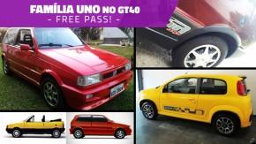 Semana Família Uno no GT40: Prêmio, Elba, Fiorino e Novo Uno também anunciam na faixa até 3ª que vem!