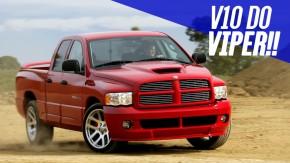 Ram SRT-10: quando a Dodge fez uma picape com o motor do Viper